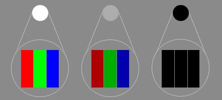 milyen fényerő optimális a látáshoz
